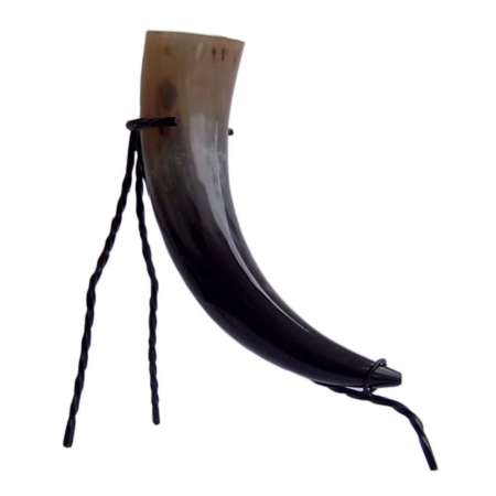 Corne à boire 0,5 Litre plus Porte-corne à boire