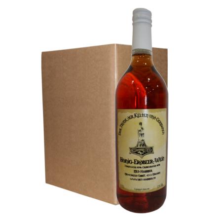 Hydromel avec vin de fraise (6 Bouteilles)