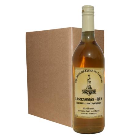 Hydromel au miel de tilleul (6 Bouteilles)