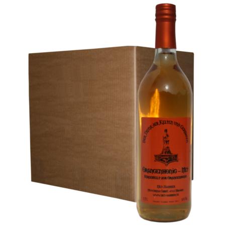 Hydromel au miel de fleurs d'orangers (12 bouteilles)