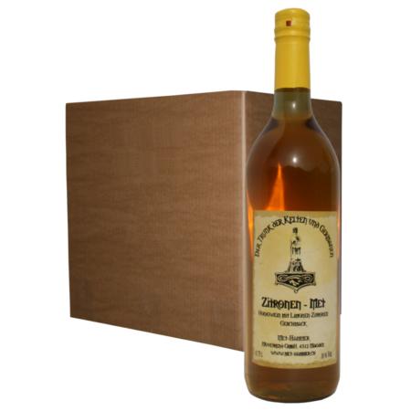 Hydromel au citron (12 bouteilles)