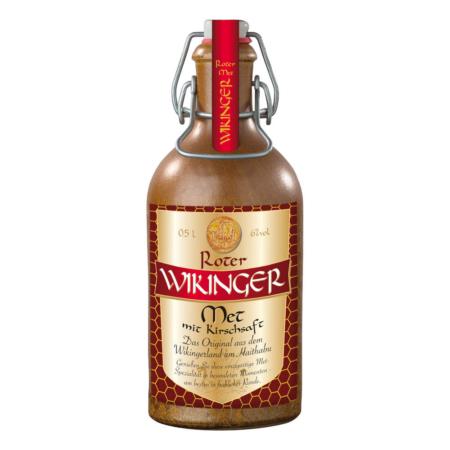 Viking Hydromel - Rouge en bouteille d'argile