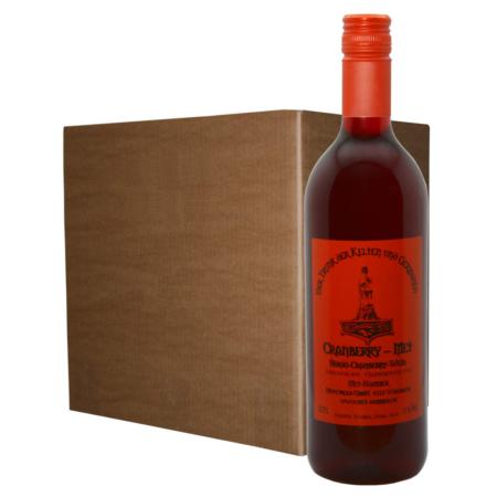 Hydromel avec vin de canneberge (12 bouteilles)