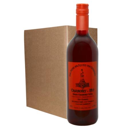 Hydromel avec vin de canneberge (6 bouteilles)