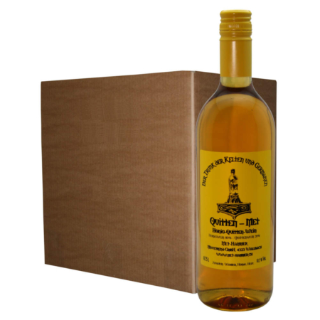 Hydromel coing (12 bouteilles)