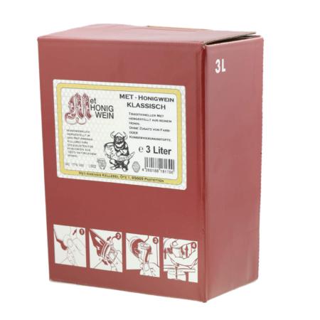 Amensis Hydromel classique, Bag-in-Box à 3 Litre