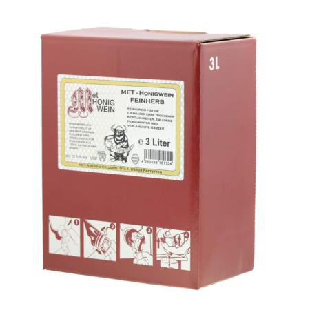 Amensis Hydromel demi-sec, Bag-in-Box à 3 Litre