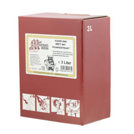 Amensis Hydromel chanvre, Bag-in-Box à 3 Litre