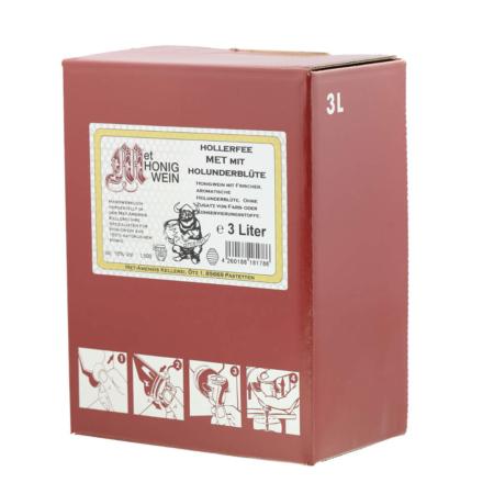 Amensis Hydromel elder, Bag-in-Box à 3 Litre