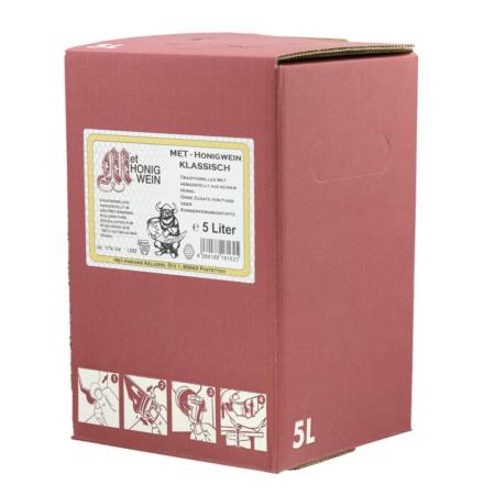 Amensis Hydromel classique, Bag-in-Box à 5 Litre