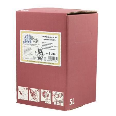 Amensis Hydromel - Cerise avec du gingembre, Bag-in-Box à 5 Litre