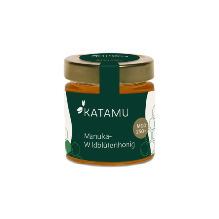 Katamu MGO 250+ Miel de fleurs sauvages de Manuka 250g
