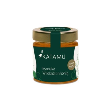 Katamu MGO 400+ Miel de fleurs sauvages de Manuka 250g
